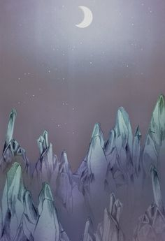 crystal cave print - naomi nowak