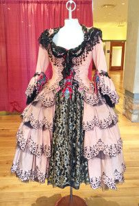"""Christine's Aminta costume from """"Point of No Return"""" in The Phantom of the Opera."""" (Don Juan Triumphant)"""