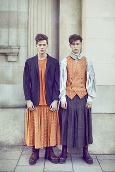 A New Look At Men In Skirts Wearing Uni Fashion Mens