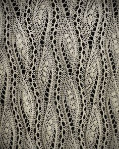 Knitted Lace from Estonia.On display in a museum in the US. Most displayed are delicate shawls that feature the nupp, a small knot of yarn that can't be made by machine ensuring the pieces are hand made. No pattern available on this one but it would be wonderful to be able to recreate.