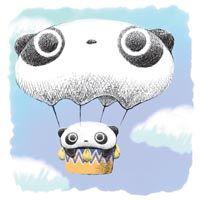 tare panda - globo