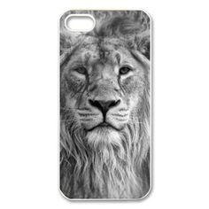 Treasure Design The King Lion Case Cover for iPhone 5 5S