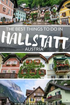 Planning a trip to Austria? Then you're definitely going to want to check out to the beautiful small town of Hallstatt. There are so many different things to do in Hallstatt! It's one of the best ways to escape the city crowds and Venture into the Austrian Alps for a breath of fresh air! take a look at this helpful Hallstatt travel guide to get a better idea of what to expect on your next Austria travel Adventure. #hallstatt #austria
