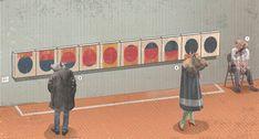 Onirismi: la prima personale italiana di Page Tsou, a Milano | Frizzifrizzi Taipei, Milano, Basketball Court, Comics, Illustration, Illustrations, Cartoons, Comic, Comics And Cartoons