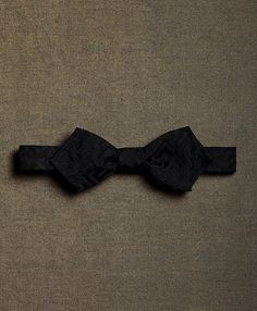 ef23dc8d8dfd The Great Gatsby Collection Black Maze Batwing Bow Tie Black The Great  Gatsby