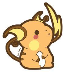 Chibi Raichu by SeviYummy.deviantart.com on @DeviantArt. #Pokemon #Raichu #fanart