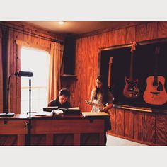 """""""Great day writing with the legendary Tom Douglas. #songwriting #newmusic #nashville #mostbeautifulwritersroom"""""""