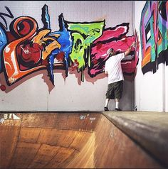 Hurley Skate Park in Costa Mesa will be open to the public on Nov. 21for a celebration and a re-envisioning of the relationship between skateboarding, graffiti and fine art.