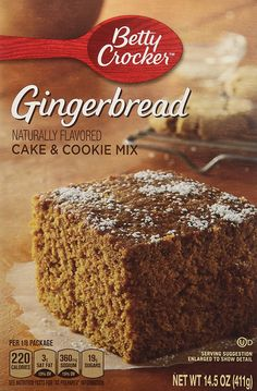Betty Crocker Gingerbread Cake and Cookie Mix 14.5 Oz (2 Pack) ** Continue to the product at the image link.