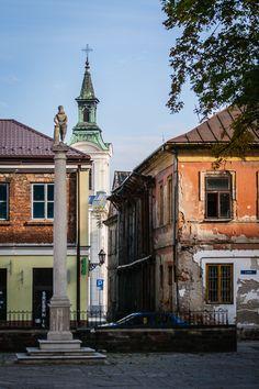 View on the XVIII c. #Lutheran #parish church, Radom, Poland