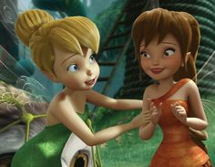 Tinkerbell and Fauna