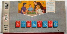 1962 Milton Bradley STRATEGO Vintage Game.