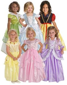 Create Your Own 6 Princess Dress Set