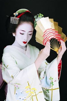 Geisha Makiko (Inoue School)