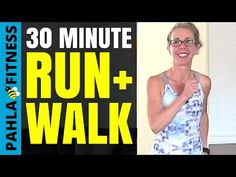 30 Minute Indoor RUN + WALK with 5 Minute Intervals | Learn to Run Workout with Pahla B Fitness - YouTube