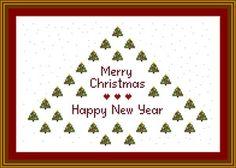 Christmas cross stitch-free