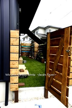 Garden Junk, Home And Garden, Fence Design, Garden Styles, Diy And Crafts, House Plans, Garage Doors, New Homes, Backyard