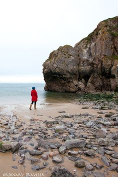 St. Catherine's Island in Tenby, Wales. Find out Why Wales is the Perfect Destination for Solo Travelers in this article.