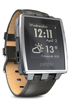 Pebble Steel is an extremely durable smart watch that supports Android and iOS devices