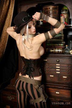 Steampunk Fashion - Kato
