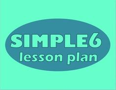 """FREE TODAY 6 points to focus your lesson planning. My student teacher calls this the """"life saving lesson planner"""""""