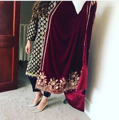 Pakistani Party Wear, Pakistani Couture, Pakistani Dresses, Indian Dresses, Indian Outfits, Punjabi Fashion, Indian Bridal Fashion, Indian Designer Suits, Desi Wear