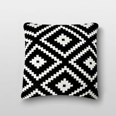 Pluchi Zumba Black Knitted Cushion Cover - Jazz up your home with the finest cushion covers and other accessories. This one from Pluchi depicts a knitted pattern impeccably in black and is made of premium 100% cotton for a delightful experience.