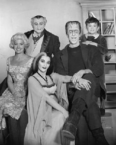 The Munsters - Print , Free Shipping