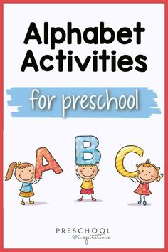 Learning the alphabet and ABC's is so fun when you use hands-on alphabet activities! These games and printables are perfect for toddlers, preschool, prek, and kindergarten. Learning The Alphabet, Alphabet Activities, Fun Learning, Preschool Activities, Preschool Alphabet, Kindergarten Age, Abc Games, Letter Recognition, Letter Sounds