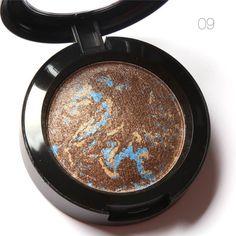 """Eye Shadow"" Single Baked Powder Palette in Shimmer Metallic"