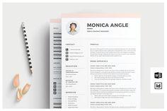 Ideas For Book Design Inspiration Creative Cv Resume Cover Letter Template, Cv Template, Resume Templates, Design Templates, Branding Template, Portfolio Logo, Portfolio Design, Business Brochure, Business Card Logo