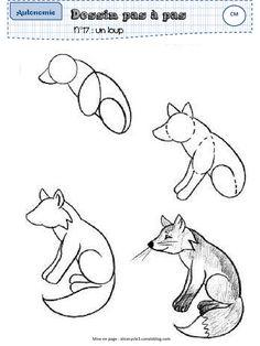 How To Draw A Fox Breakdown