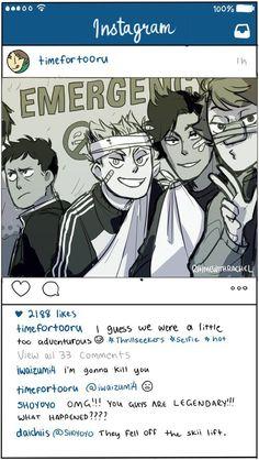Haikyuu Instagram 4