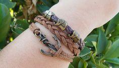 Anchor bracelet elephant bracelet personalized by jewellrydesign, $7.99