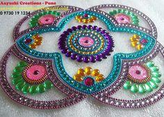 Df Embroidery Hoop Art, Embroidery Patterns, Diya Rangoli, Envelope Design, Diwali Decorations, Baby Shower Cards, Stone Work, Bohemian Gypsy, Beaded Jewelry