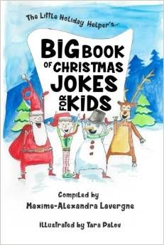 Exciting News! Big Book of Christmas Jokes for Kids! For every book sold, a donation is made!