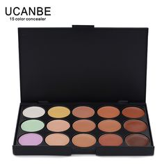 special Professional 15 Colors Concealer palette Makeup Camouflage Make up Neutral Palettes Free Shipping Professional Makeup Brush Set