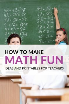 Fun Ways to Teach Math and Printables to Get You Started Fun Math Games, Learning Activities, Math Skills, Math Lessons, Learning Centers, Math Centers, Math Lesson Plans, Math Journals, Free Math