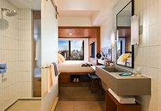 Micro Hotels Travel Guide - Tommie Hotels New York 2 • TheCoolist - The Modern Design Lifestyle Magazine