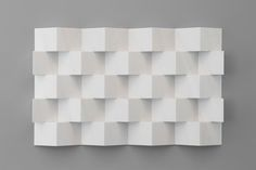 "LAURENT GRASSO ""Anechoic Wall"" 2014  Marble / Marbre  39 1/4 x 63 x 4 inches / 100 x 160 x 10 cm Unique"