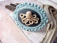 Creature from the Deep by MySelvagedLife on Etsy, $22.00