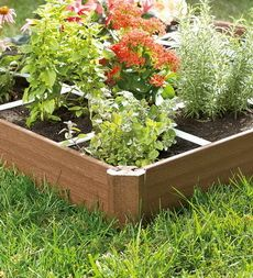 A Square Foot Gardening Layout for Raised Bed Gardening and Square Foot Garden Design
