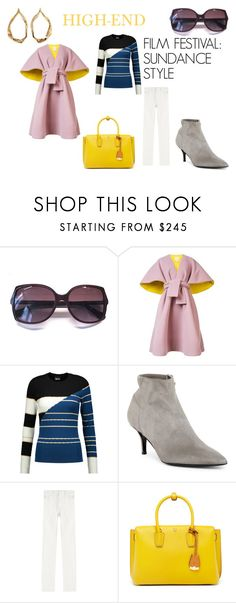 """Film Festival: Sundance Style"" by greerisahomo ❤ liked on Polyvore featuring Chanel, Delpozo, Just Cavalli, Delman, Philosophy di Lorenzo Serafini, MCM and Tom Ford"