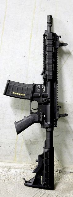 Caracal Europe 816 (CR 5.56) in full-auto. I know I'd never need one of these, but it sure looks intimidating.