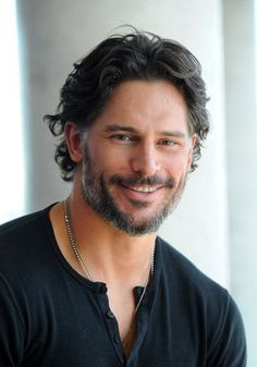 His smile...oh it gives me butterflies. Joe Manganiello