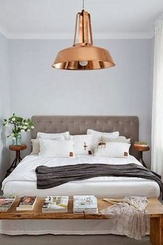 Beautiful bedroom with Orient pendant lights from Lightyears | Inside Out. Description from pinterest.com. I searched for this on bing.com/images