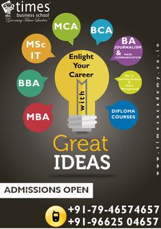 Hurry Up!! Admission open for BBA 2015 at Times Business School Ahemdabad
