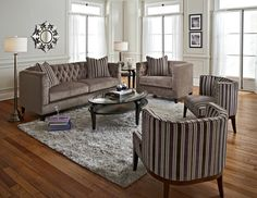Brooklyn Upholstery Collection - Value City Furniture-Sofa $599.99 Love this sofa for a sitting area in the master