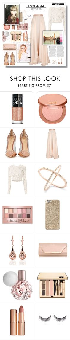 """Untitled #151"" by madhu-147 ❤ liked on Polyvore featuring Maybelline, tarte, Gianvito Rossi, Lanvin, A.L.C., Michael Kors, Dorothy Perkins, Charlotte Tilbury, shu uemura and Diane Von Furstenberg"