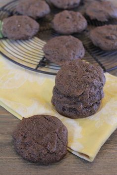 Gluten Free Double Chocolate Banana Cookies